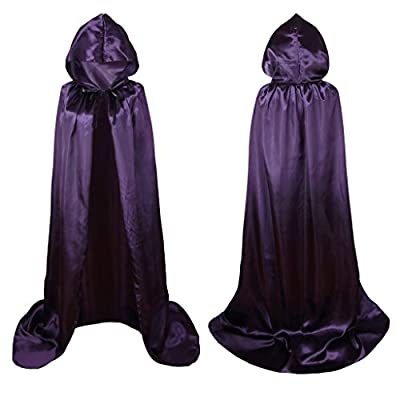 Colorful House Unisex Full Length Hooded Cape Costume Cloak