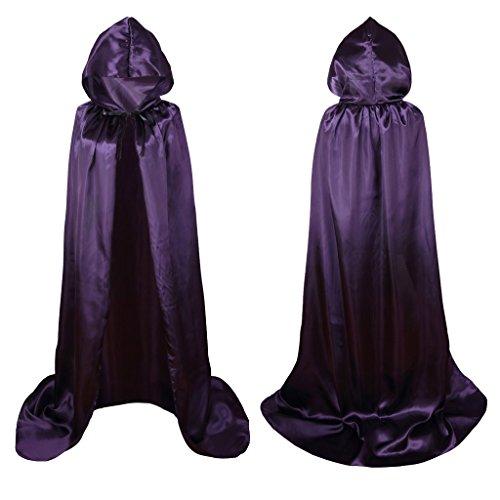 Colorful House Unisex Full Length Hooded Cape Christmas Costume Cloak (67