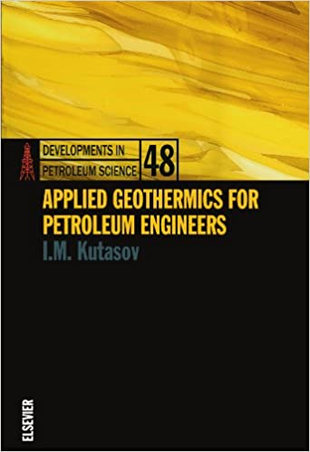 Book Applied Geothermics for Petroleum Engineers