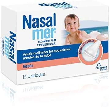 Nasalmer Recambios Aspirador Nasal - 12 Unidades: Amazon.es: Salud ...