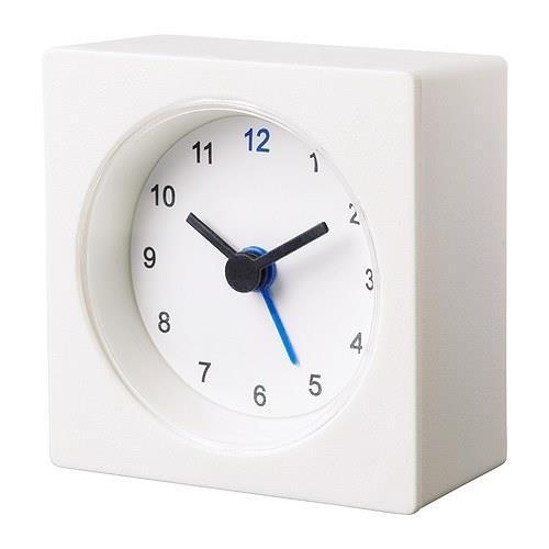 Ikea Decorative Alarm Clock Set of  2 Compact Size 2.75'