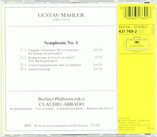 Mahler: Symphony No. 1 by Deutsche Grammophon (Image #1)
