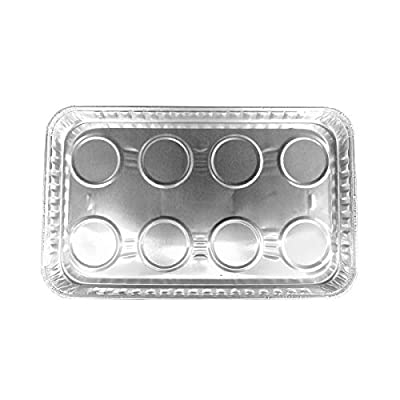 Durable Packaging Aluminum Foil Toaster Oven Tray - #3300 Pack of 25