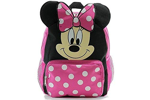 - Small Backpack - Disney - Minnie Mouse - Happy Face