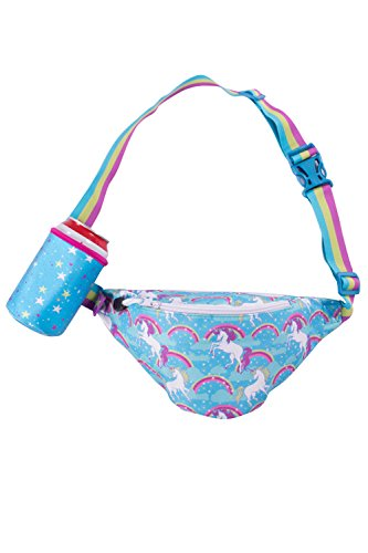 Fanny Pack Waist Pack with Detachable Drink Holder on Bag (Unicorn)