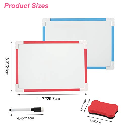 Small Magnetic Dry Erase White Board, 8\