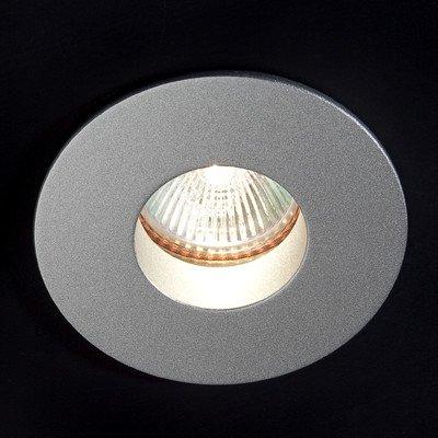 Faro Barcelona Atom 02031303 - Empotrable, 26W, aluminio inyectado, cristal y acero, reflector 99.98% aluminio, color gris: Amazon.es: Iluminación