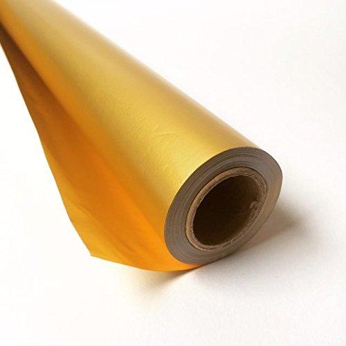 4 x Goldfolie 50 cm x 8,5 m Rolle, Metallicfolie, Goldpapier, Bastelfolie, Alufolie, Sternfolie, Sternpapier zum Basteln (Gold Gold) B01DKOBK24 | Vogue