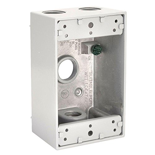 [Orbit 1B75-4-W Electric Box, 2