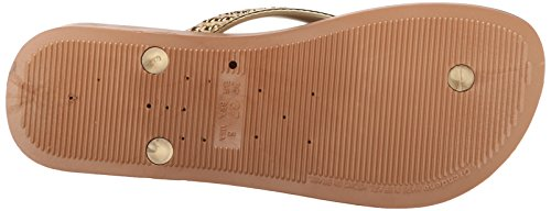 Brown Flop Plat Tan Ipanema Gold Flip Women's Gold Wedge Mesh YXXHqp