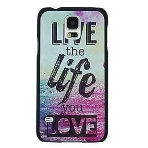 """YULIN """"Vivir la vida que amas"""" pattern pc caso duro para la galaxia s5"""