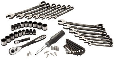 - Craftsman 56-piece Universal Mechanics Tool Set