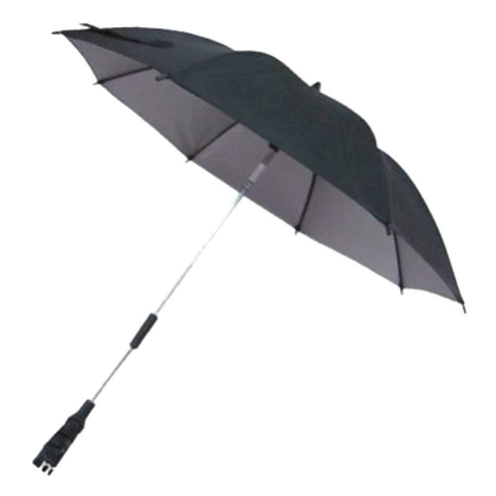 Turspit Universal Baby Parasol Stroller Buggy Pram Parasol Umbrella Rain Sun UV Protection Sunshade Canopy for Pram Stroller Pushchair Black