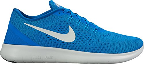 Nike Mens Free Rn Running Shoe (14 D (m) Us, Soar / Pure Platinum-blue Glow-team Royal)