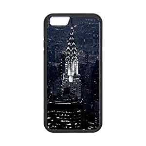 New York City Design Solid Rubber Customized Cover Case for iPhone 6 plus 5.5 hjbrhga1544