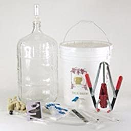 Strange Brew Complete Winemaking Starter Kit with 6 gallon Glass Carboy
