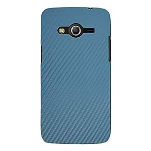 "Disagu Design Protective Case para Samsung Galaxy Core LTE Funda Cover ""Blue Carbon Look"""