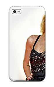 First-class Case Cover For Iphone 5c Dual Protection Cover Celebrity Avril Lavigne