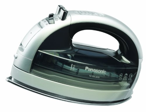 Panasonic NI-WL600 Cordless Multi-Directional Steam Iron, Silver/Black Deal (Large Image)