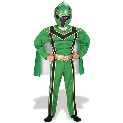 Amazon com: Power Ranger Green Muscle Costume: Boy's Size 4