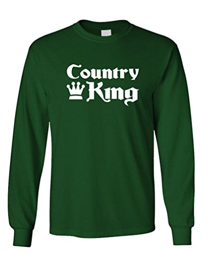 - Country King - Long Sleeved Tee, M, (Kings Men Southern Gospel)