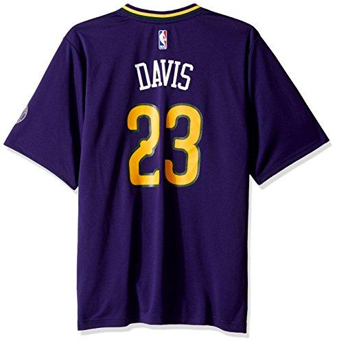 - NBA Men's New Orleans Pelicans Anthony Davis Replica Player Pride Jersey, 2X-Large, Purple