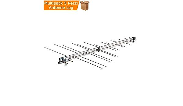 Multipack Unidades 5 Antenas TV logaritmiche periodiche ...