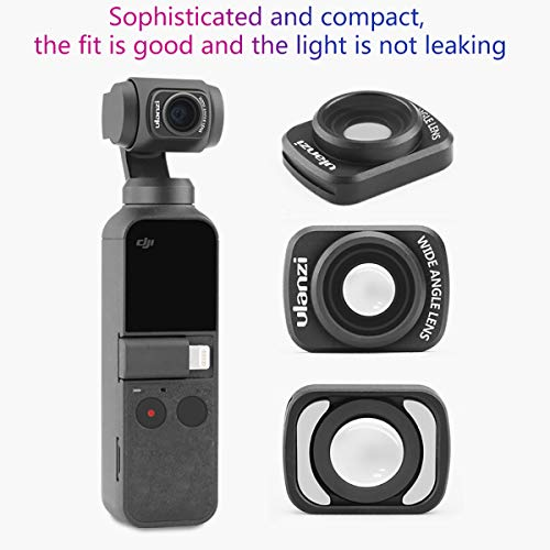 ULANZI OP-5 OSMO Pocket Wide Angle Lens Magnetic Structure for DJI OSMO Pocket Camera Handheld Gimbal Stabilizer Accessories Wide-Angle Camera Lens