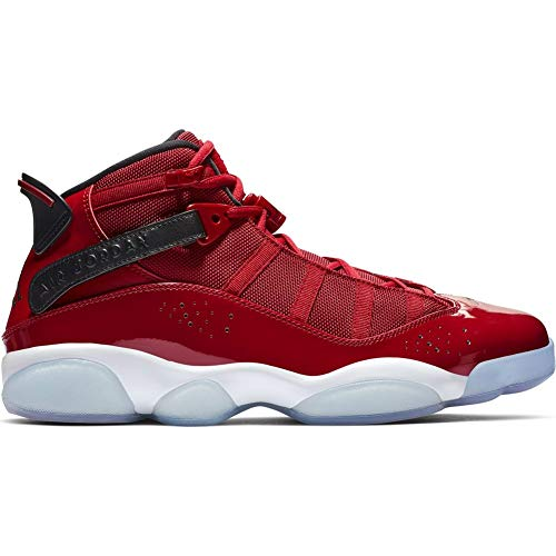 c7baf2d8aa Jordan 322992-601: Men's Gym Red/Black/White 6 Rings Sneakers (