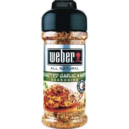 Weber Garlic And Herb Seasoning Pork Chicken 6.25 Oz.