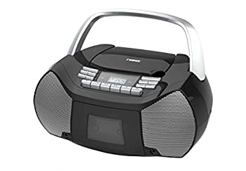 Naxa Electronics Npb-268 Portable Cdcassette Boombox (Silverblack) 0