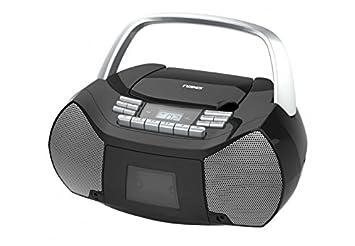 NAXA NPB-268 Portable Cd/Cassette Boom Box Petra Canada