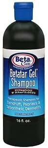 Betatar Gel Shampoo, Dandruff Shampoo, 16 Ounce Bottle (Pack of 2)