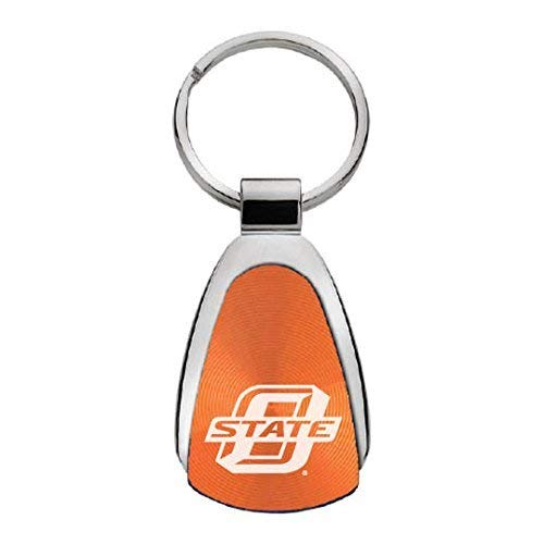 (LXG, Inc. Oklahoma State University-Stillwater - Teardrop Keychain - Orange)