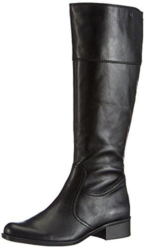 Caprice Kania-B-1K-1 9-9-25520-23 002 Damen Langschaft Stiefel Schwarz (2 BLACK ANTIC)