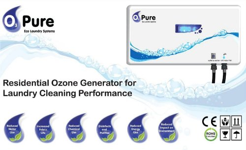 O3 Pure Professional Eco Laundry Ozone Washer System - Newest Generation and the Most Powerful on the market by O3 Pure