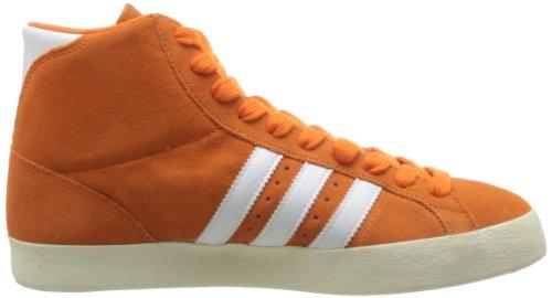 Adidas Originals Basket Profi Mænd Suede Sneakers / Hi Tops Orange 7SM4QgK