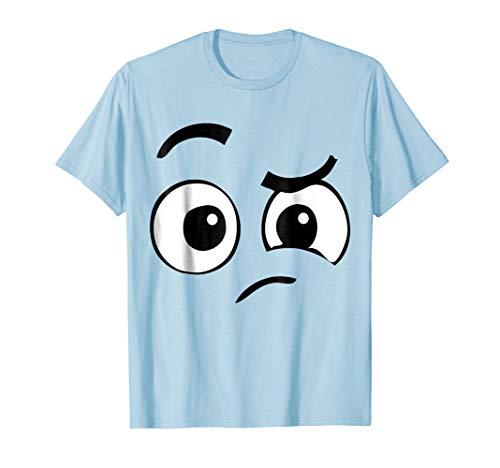 Perplexed Emoji Halloween Costume TShirt Confused -