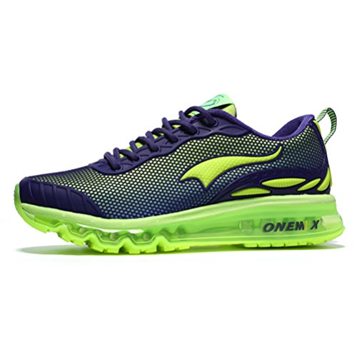 YiDiar Men's Athletic Training Trail Air Cushion Running Shoes Walking Jogging Outdoor Sports Sneakers - Mens Running Shoes 9e