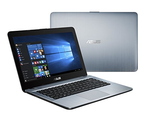 "New 2019 Flagship ASUS X441BA - 14"" HD AMD A6-9225 up to 3.0GHz, 4GB DDR4 RAM, 500GB HDD, AMD Radeon R4, WiFi, Bluetooth, USB 3.1 Type-C, HDMI, Silver Gradient, Windows 10 Home"