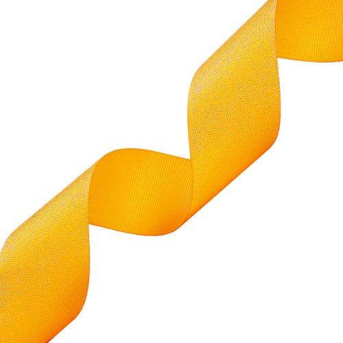 Yellow Gold Grosgrain Ribbon - 1