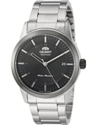 Orient Mens Sentinel Japanese Automatic Stainless Steel Casual Watch, Color:Silver-Toned (Model: FAC05001B0)