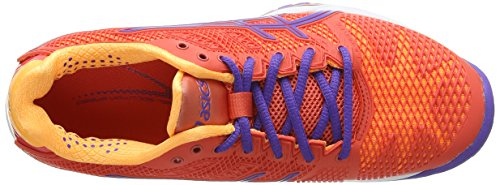 ASICS Gel-Solution Speed 2, Damen Tennisschuhe Orange (Hot Coral/Lavender/Nectarine 633)