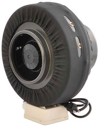 MarsLG 6 Duct Blower Centrifugal Inline Exhaust Fan 206 CFM,MARS2401