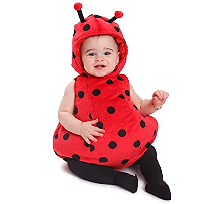 Dress Up America Baby Girls Ladybug Costume Outfit: Toys & Games