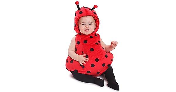Amazon.com: Dress Up America bebé niñas Ladybug Costume ...
