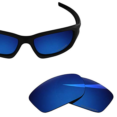 46c10862591 BlazerBuck Anti-salt Polarized Replacement Lenses for Oakley Valve -  Midnight Blue