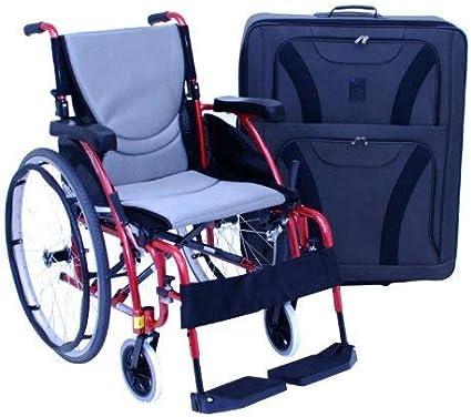 Amazon.com: Silla de ruedas/andador con ruedas Bolsa de ...