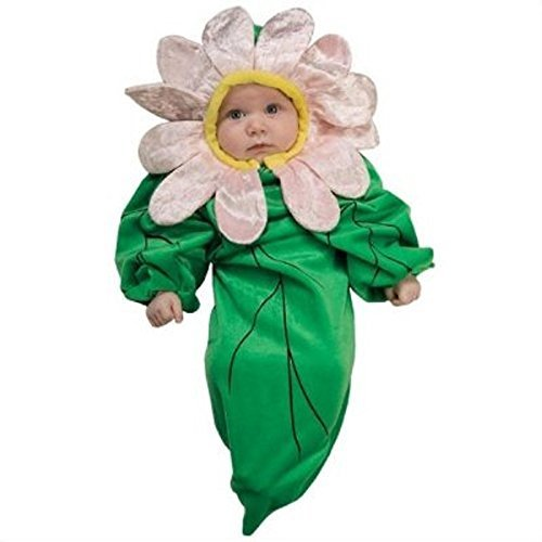 [Daisy Brite Bunting Baby Infant Costume - Newborn] (Daisy Flower Costumes For Halloween)