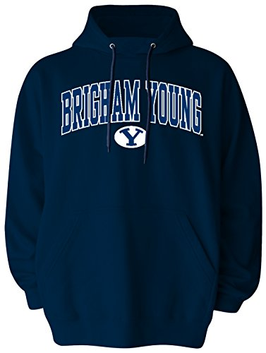 Byu T-shirts - NCAA BYU Cougars Pullover Hood, XX-Large, Navy